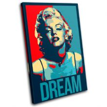 Marylin Monroe Dream Abstract - 13-6097(00B)-SG32-PO